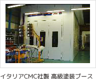 イタリアCMC社製 高級塗装ブース