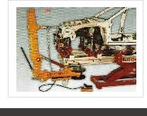 イタリアカーベンチ製フレーム修正機